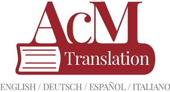 acm translation Servizi Linguistici professionali